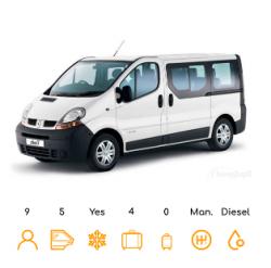 Opel Vivaro 9 Lug. / similar